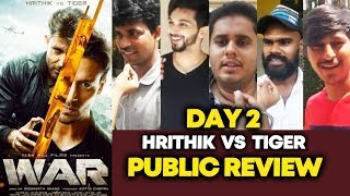 WAR Movie PUBLIC REVIEW | DAY 2 | Hrithik Roshan | Tiger Shroff