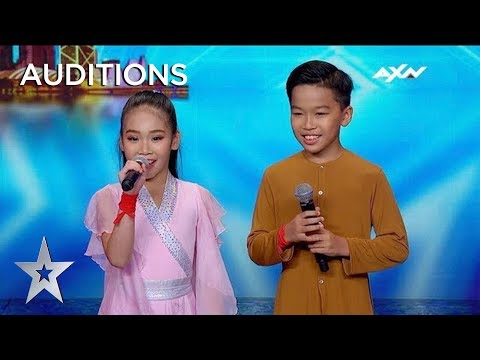 Are These The Cutest Kids Or What?! Once Upon A Time Stun The Audience! | AXN Asia's Got Talent 2019