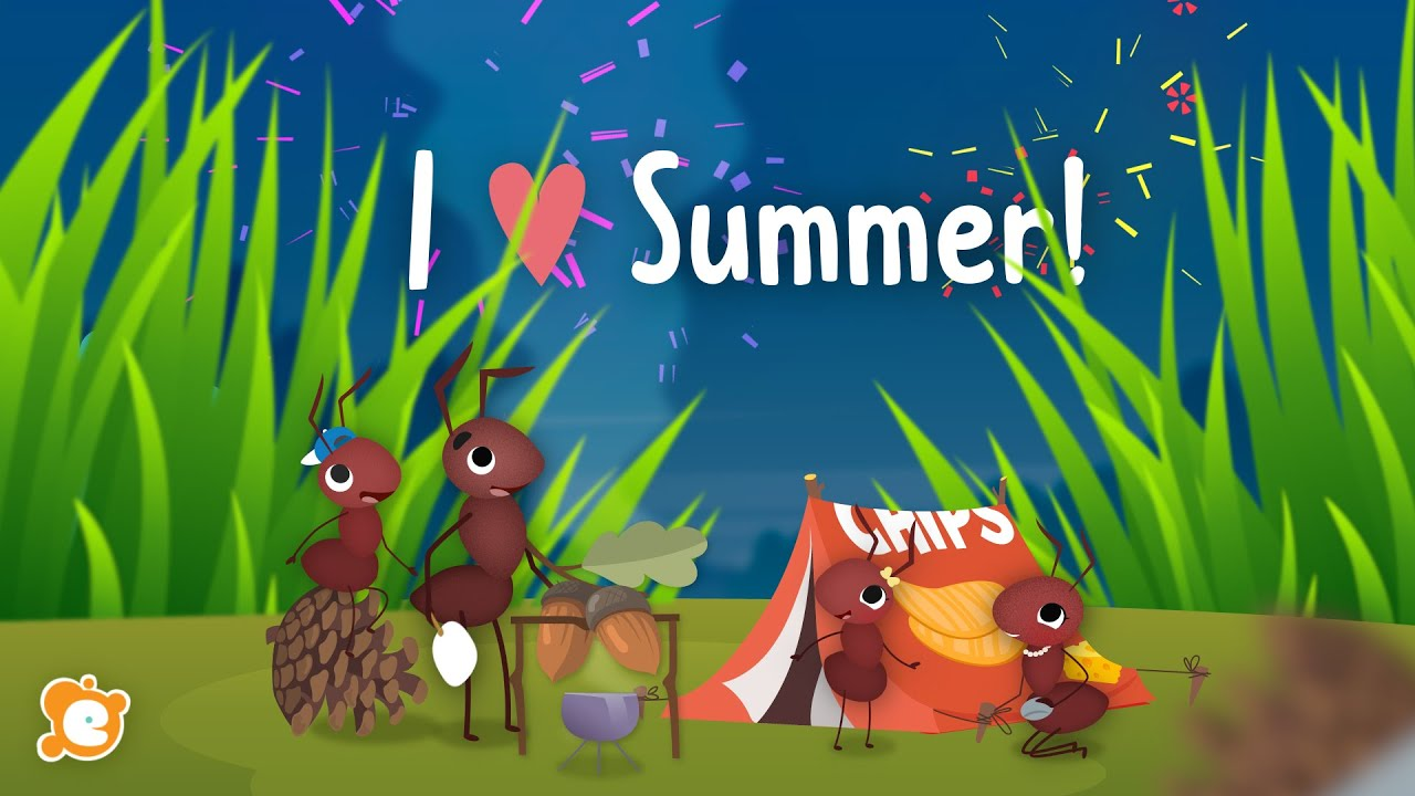 I LOVE SUMMER - Summer Song by ELF Learning