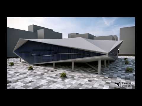 Parametric Design Study of Qatar National Library