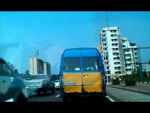 Circulation sur le boulevard du 30 juin a Kinshasa 2