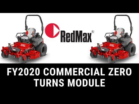 RedMax Commercial Zero Turn Mower Line Up