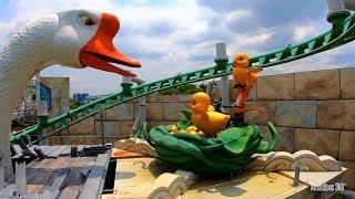Dreamworks Puss in Boots Ride - Universal Studios Singapore Theme Park
