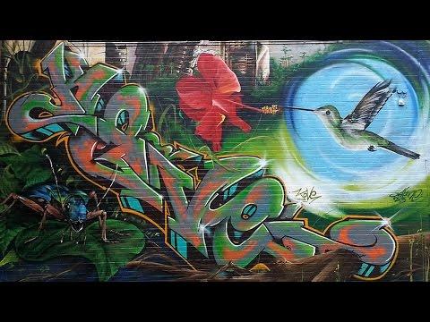 Graffiti #2 - Hamburg & Kiel - Pieces Walls Wände Bilder Throw-Up Street
