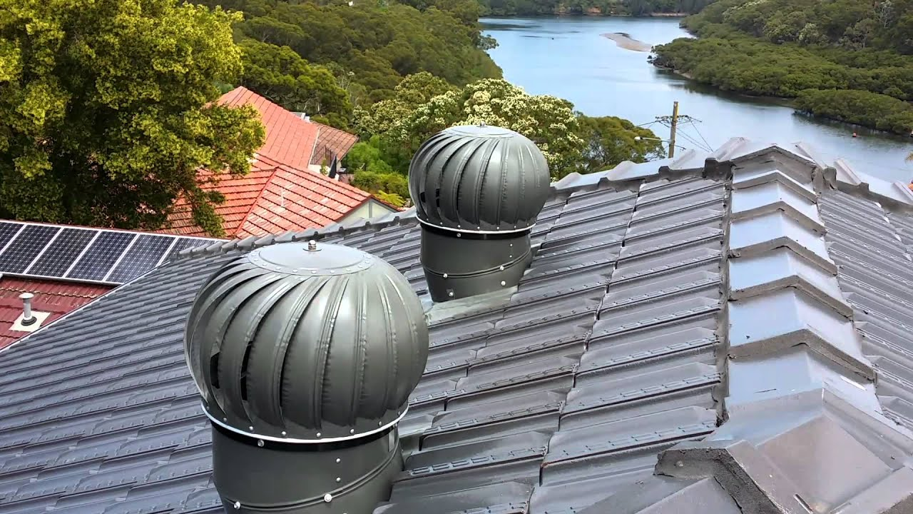 Twista House Roof Ventilators   No Wind, High Spin, No Noise!
