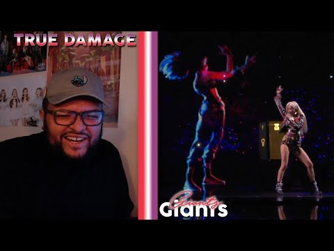 True Damage - GIANTS MV + STAGE REACTION!!! | SOYEON THE QUEEN!!!