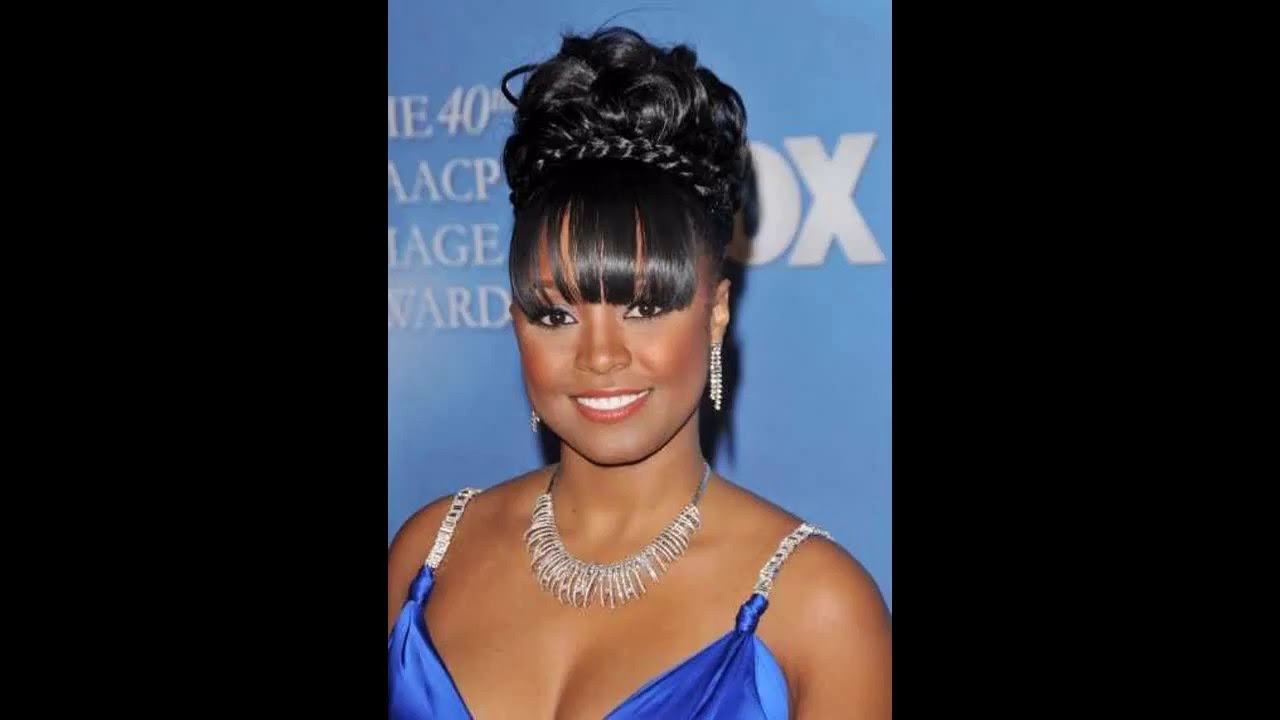 Black wedding hairstyles updos - YouTube