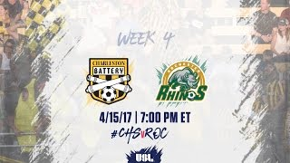 Charleston Battery vs Rochester Rhinos full match