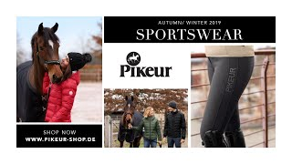 PIKEUR Sportswear collection - Autumn/Winter 2019/2020