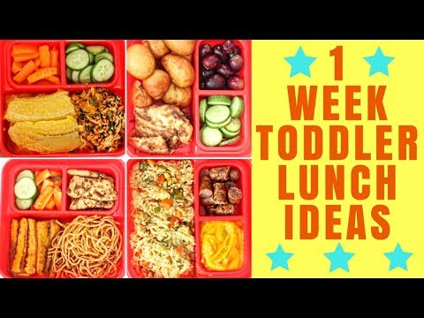 TODDLER LUNCH IDEAS 2017 | MEALS AND TIPS