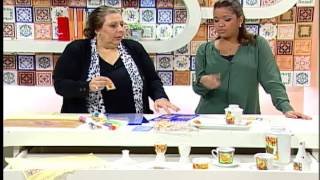 Artesanato – Adesivagem em tecido