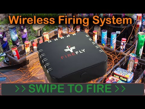 Firefly - The NEW Personal Wireless Fireworks Firing System