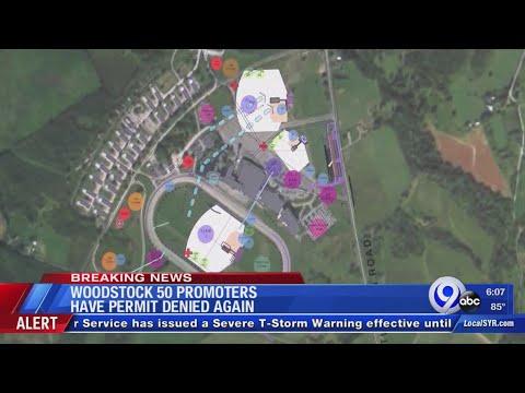 Dana McKenzie - Woodstock Organizers File Permit Appeal