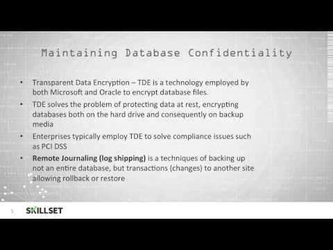 Database Attacks (CISSP Free By Skillset.com)