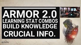 Armor 2.0 Build Guide - Finding The Stat Combos On Armor 2.0 - EARLY TIP -  Destiny 2 Shadowkeep