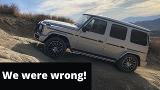 homepage tile video photo for The New Mercedes G550 Has Changed Our Mind About G-Wagens - Two Takes