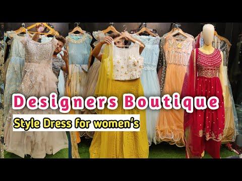 Ladies party wear Boutique Dress | women's party wear gown | Designer Lehenga choli mickey Fashion