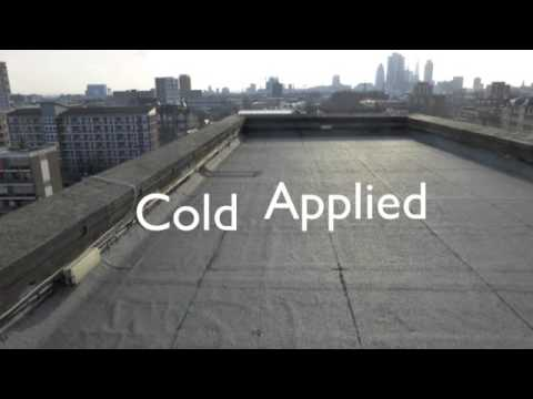 GacoPro 100% Silicone Roof Coating Application