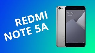 Xiaomi Redmi Note 5A [Análise / Review]