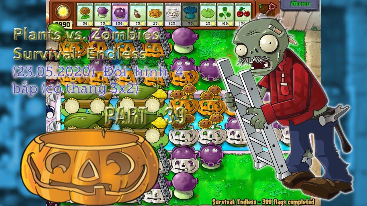 Plants vs. Zombies: Survival: Endless (23/05/2020) (PART 39)