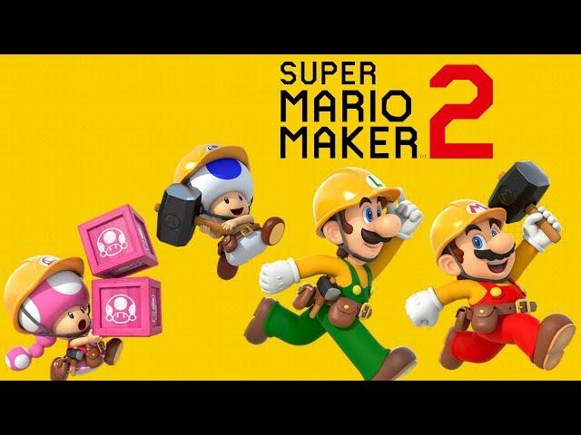 Super Mario Maker 2! - HighLights Compilation!!