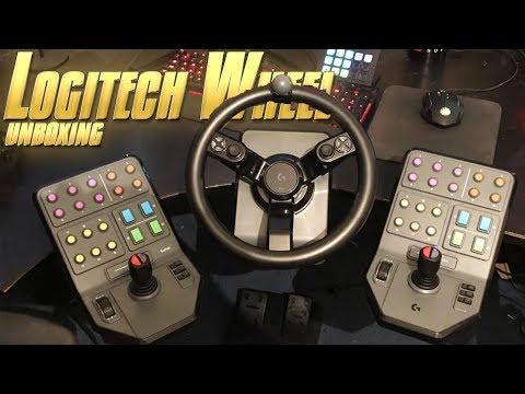 Logitech Heavy Equipment Unboxing - Farming Simulator 19 Wheel