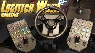 Logitech Heavy Equipment Unboxing - Farming Simulator 19 Wheel