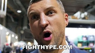 CARL FROCH REACTS TO USYK KNOCKING OUT TONY BELLEW; EXPLAINS CHANCES AT HEAVYWEIGHT