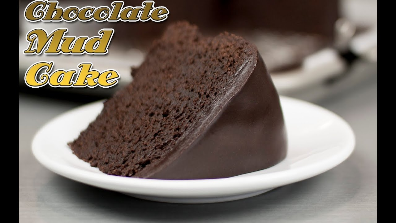 Easy chocolate mud cake recipe super fudge cake recipe for Simple chocolate fudge cake