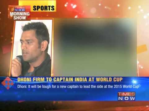 Mahendra Singh Dhoni clears retirement talk