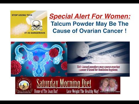 Special Alert For Women Talcum Powder May Cause Ovarian Cancer Youtube