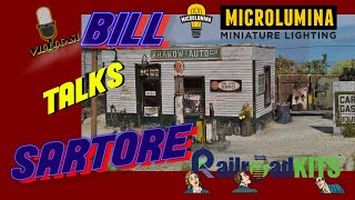 MRT Video Podcast #6-Bill Sartore talks Railroad Kits and Microlumina