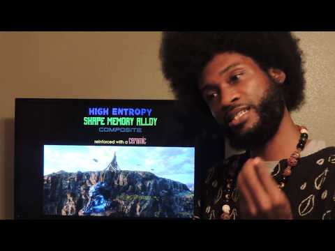 BLACK PANTHER DECODED- WHAT IS VIBRANIUM/(MELANIN)? LEARN HOW TO MAKE IT!