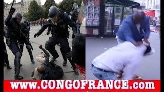 Urgent HERITIER EZA YA KOYINDA, BA KANGI BA ANTI COMBATTANTS DEVANT OLYMPIA DE PARIS??, LA POLICE Hé