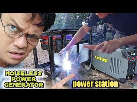 DIY building the biggest power bank, using lotus inverter welding machine.