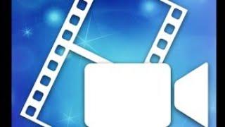 Видео урок по PowerDirector