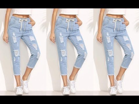 Latest Jeans Style for Ladies   Jeans Design for Girls / Women   Jeans  Fashion 2019 - YouTube