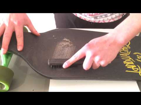 How To: Clean Your Longboard Griptape