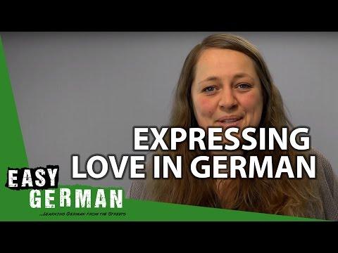 Expressing Love In German - German Basic Phrases (14)