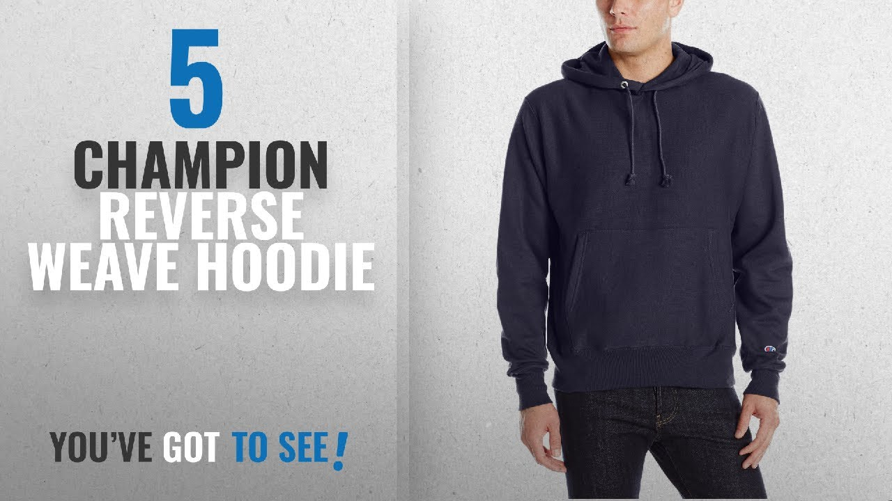 6ef7f22014c0 Top 10 Champion Reverse Weave Hoodie  2018   Champion Men s Life ...