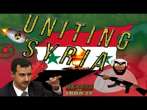 Uniting Syria HOI4 Syria - Under One Country! | Hearts of Iron 4 [Modern Day 4 Mod]
