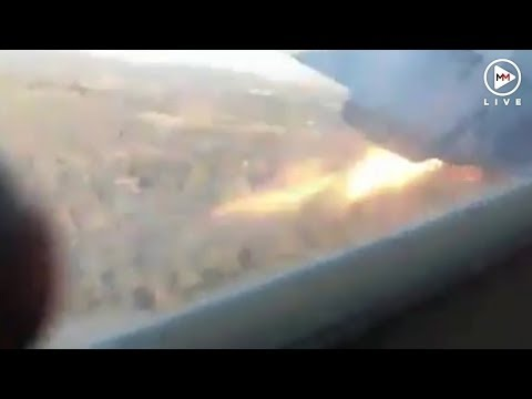 Inside the Pretoria plane crash: Passenger films final moments