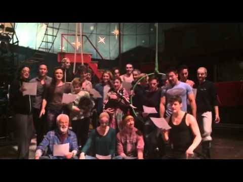 Bway closing tribute from Pippin US Tour