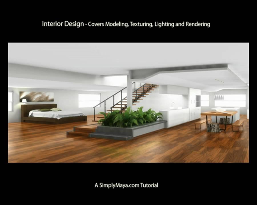 VRay Interior Lighting in Autodesk Maya Night Light? with 6 Types -  Tutorial - MayaTubers