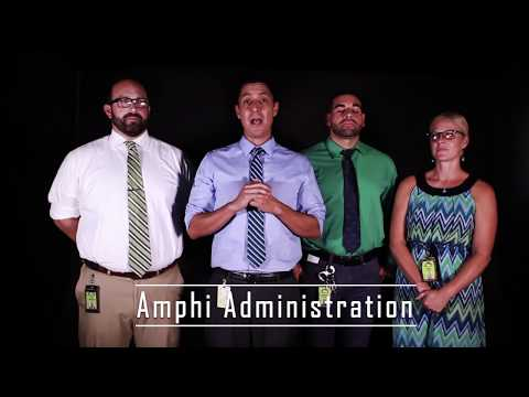 8-10-18 Welcome Back From The Amphi Administration Team.