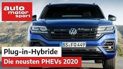 Plug-in-Hybride: Diese PHEVs kommen 2020! – Neuvorstellung | auto motor und sport