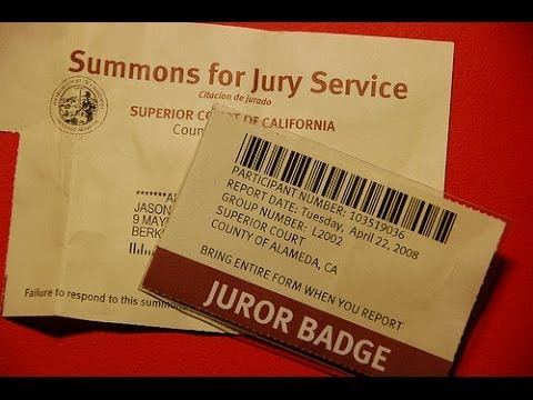 How To Get Out of Jury Duty - Why Jurors Never Know All the