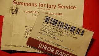 How To Get Out of Jury Duty - Why Jurors Never Know All the Facts - Tricks of Prosecutors