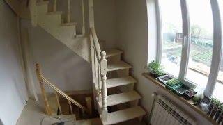 видео Как сделать лестницу на мансарду