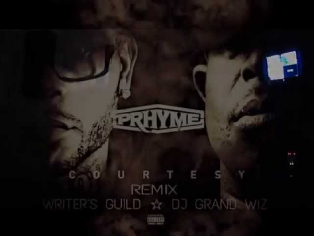 """Making of """"Courtesy"""" Remix (Writer's Guild Feat. DJ Grand Wiz) #PRhyme"""